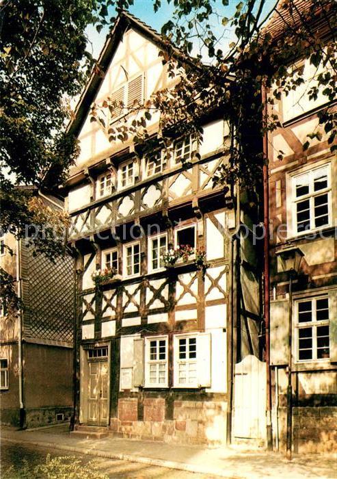 AK / Ansichtskarte Bad_Hersfeld Fachwerkhaus Bad_Hersfeld