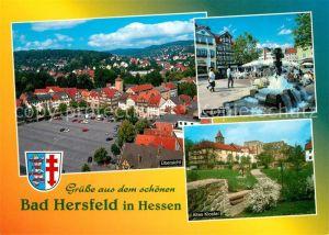 AK / Ansichtskarte Bad_Hersfeld Linggplatz Altes Kloster  Bad_Hersfeld