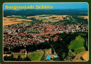 AK / Ansichtskarte Schlitz Fliegeraufnahme Schlitz