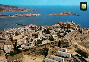 AK / Ansichtskarte Ibiza Fliegeraufnahme Ibiza