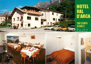 AK / Ansichtskarte Stampa Hotel Val D`Arca Stampa