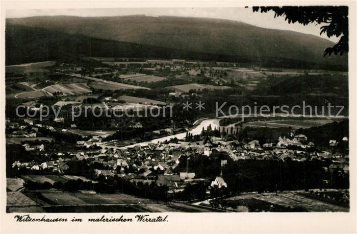 AK / Ansichtskarte Witzenhausen Panorama Witzenhausen