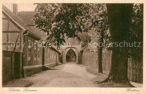 AK / Ansichtskarte Loccum Kloster Loccum Westtor Loccum