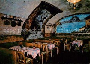 AK / Ansichtskarte Caprino Felsenkeller Restaurant Caprino