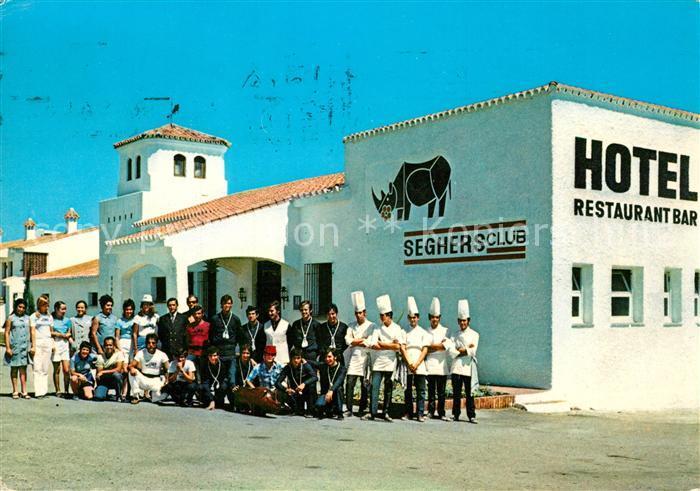 AK / Ansichtskarte Estepona Hotel Restaurant Seghers Club Estepona