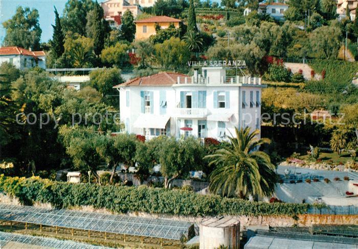 AK / Ansichtskarte Bordighera Pensione Villa Sperzanza Bordighera