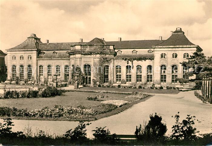 AK / Ansichtskarte Gotha_Thueringen Heinrich Heine Bibliothek Gotha Thueringen