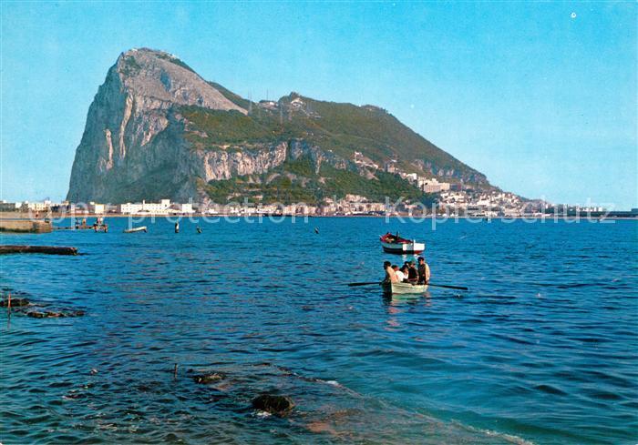 AK / Ansichtskarte Gibraltar El Penon de Gibraltar Felsen Gibraltar