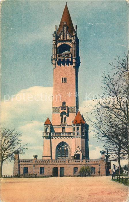 AK / Ansichtskarte Grunewald_Berlin Kaiser Wilhelm Turm Grunewald Berlin