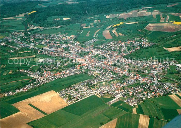 AK / Ansichtskarte Odenheim Fliegeraufnahme Odenheim