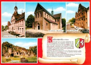 AK / Ansichtskarte Kaiserswerth Stadtkirche Altes Zollhaus Kaiserpfalz Suitbertus Basilika Kaiserswerth