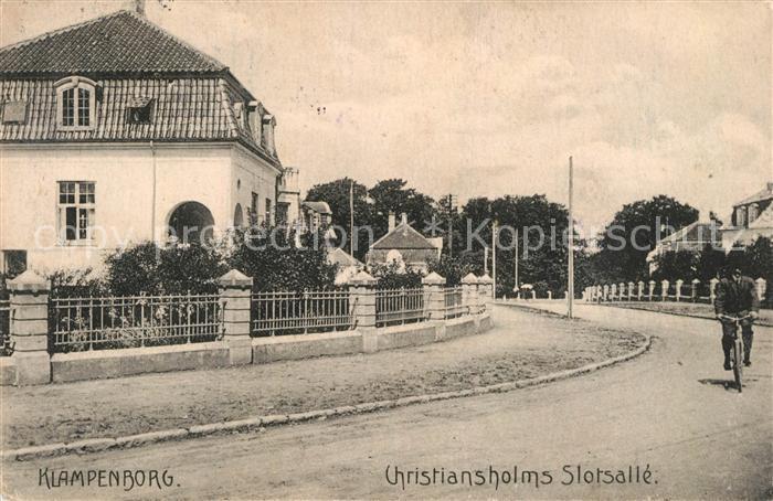 AK / Ansichtskarte Klampenborg Christiansholms Slotsalle Klampenborg