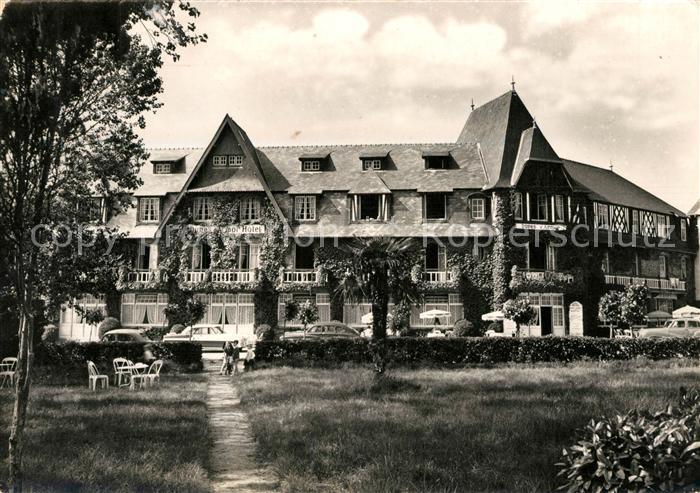 AK / Ansichtskarte Sables_d_Or_les_Pins Hotel des Dunes d Armor et des Mouettes Parc Sables_d_Or_les_Pins