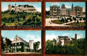 AK / Ansichtskarte Coburg Veste Schloss Ehrenberg Rosenau Callenberg Coburg