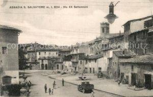 AK / Ansichtskarte Abbadia_San_Salvatore Via XX Settembre