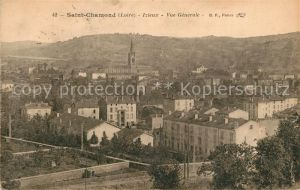 AK / Ansichtskarte Saint Chamond Izieux Vue generale Saint Chamond