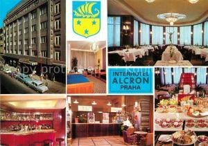 AK / Ansichtskarte Praha_Prahy_Prague Interhotel Alcron Restaurant Buffet Bar Rezeption Praha_Prahy_Prague