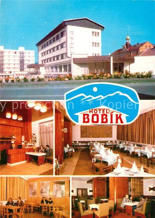 AK / Ansichtskarte Volary Hotel Bobik Restaurant Volary