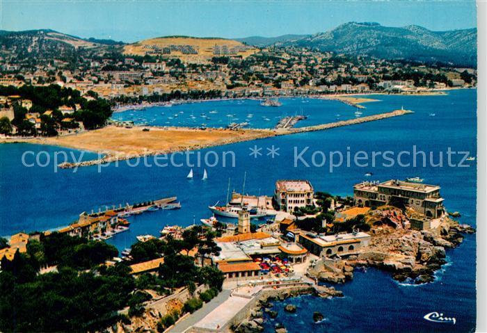 AK / Ansichtskarte Bandol Vue panoramique aerienne Bandol