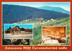 AK / Ansichtskarte Cervenohorske_Sedlo Zotavovna ROH Hotel Restaurant