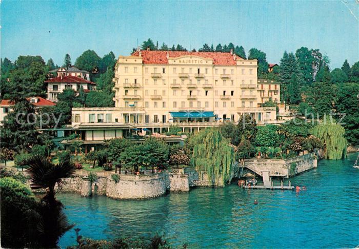 Ak Ansichtskarte Verbania Lago Maggiore Grand Hotel Majestic Verbania Nr Bx48581 Oldthing Ansichtskarten Piemont Piemonte