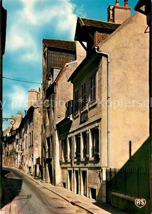 AK / Ansichtskarte Dole_Jura Rue Pasteur vieilles maisons Dole_Jura