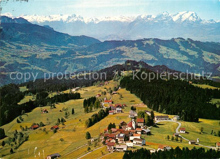 Vorarlberg Karte Berge.Ak Ansichtskarte Sulzberg Vorarlberg Panorama Blick Gegen Schweizer Berge Fliegeraufnahme Sulzberg Vorarlberg