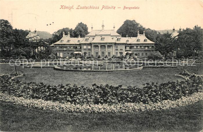 AK / Ansichtskarte Pillnitz Bergpalais Lustschloss Pillnitz