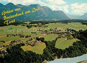 AK / Ansichtskarte Kleinsoell_Breitenbach Alpenpanorama Fliegeraufnahme