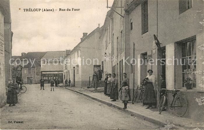 AK / Ansichtskarte Trelou sur Marne Rue de Four  Trelou sur Marne
