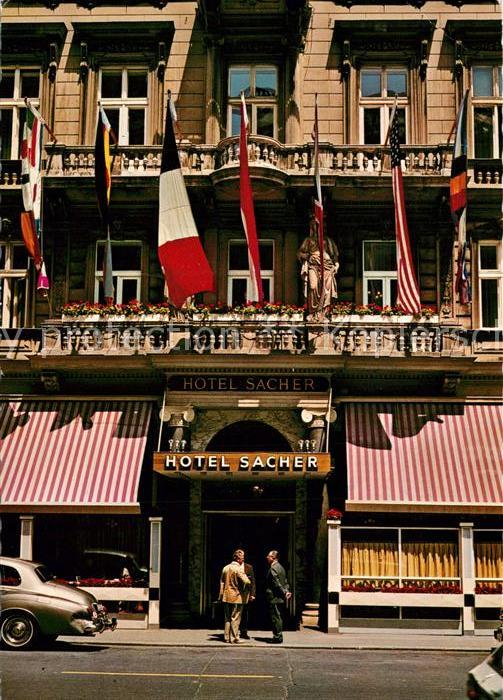 AK / Ansichtskarte Wien Hotel Sacher Wien