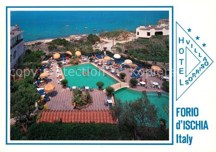 AK / Ansichtskarte Forio_d_Ischia Hotel Villa Sorriso Swimming Pool Forio_d_Ischia