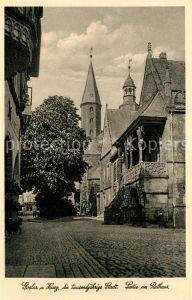 AK / Ansichtskarte Goslar Rathaus Goslar