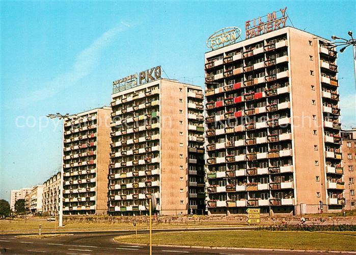 AK / Ansichtskarte Torun_Thorn Osiedle mieszkaniowe Mlodych Neubaubloecke Torun Thorn
