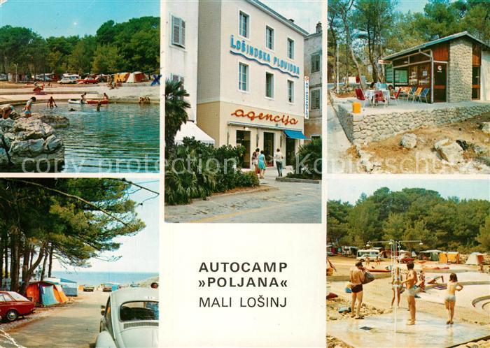 AK / Ansichtskarte Mali_Losinj Autocamp Poljana Strand Mali Losinj