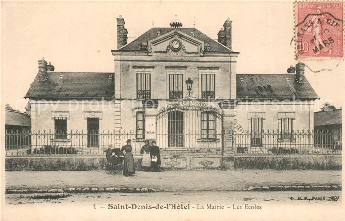 AK / Ansichtskarte Saint Denis de l_Hotel La Mairie Ecoles  Saint Denis de l Hotel