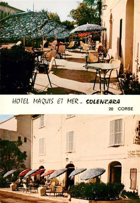 AK / Ansichtskarte Solenzara Hotel Marquis et Mer Solenzara