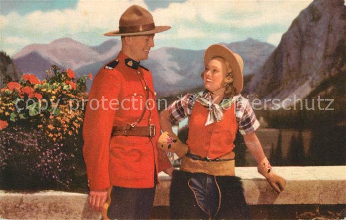 AK / Ansichtskarte Polizei Royal Canadian Mounted Police Polizei