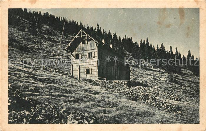 AK / Ansichtskarte oetscher Schutzhaus Panorama oetscher Schutzhaus