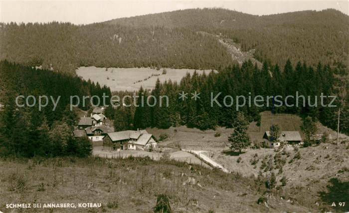 AK / Ansichtskarte Schmelz_Oesterreich Koteau Panorama Schmelz_Oesterreich
