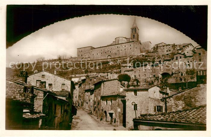 AK / Ansichtskarte Todi Panorama verso Mezzogiorno Todi