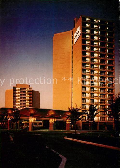 AK / Ansichtskarte Richmond_British_Columbia Hotel Airport Inn Resort Richmond_British_Columbia