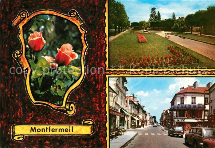 AK / Ansichtskarte Montfermeil Stadtansichten Park Montfermeil
