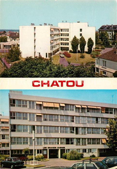 AK / Ansichtskarte Chatou Maison de Retraite les grands Chenes Chatou