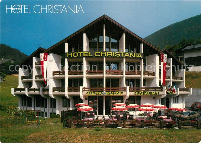 AK / Ansichtskarte Fiesch Hotel Christania Fiesch