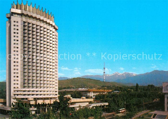 AK / Ansichtskarte Kasachstan Hotel  Kasachstan