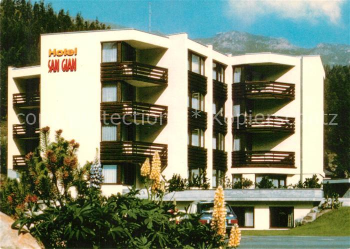 AK / Ansichtskarte Moritz_Dorf_GR_St Hotel San Gian Moritz_Dorf_GR_St