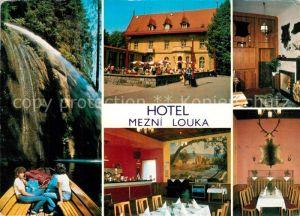 AK / Ansichtskarte Hrensko Hotel Mezni Louka Hrensko