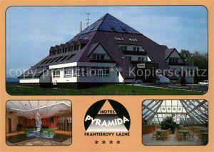 AK / Ansichtskarte Frantiskovy_Lazne Hotel Pyramida Frantiskovy_Lazne