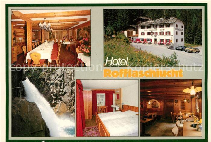 AK / Ansichtskarte Andeer_GR Hotel Rofflaschlucht Andeer_GR